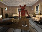 Foxy из Five Nights Att Freddy's для GTA San Andreas вид изнутри