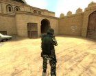 Jungle Camo CT для Counter-Strike Source вид сзади слева