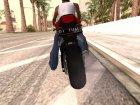 Honda CBR1000RR Yami для GTA San Andreas вид слева