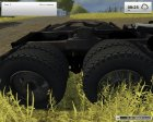 КамАЗ 6460 for Farming Simulator 2013 back view