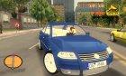 Volkswagen Passat W8 for GTA 3 inside view