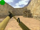 M4A1-S Knight из CS:GO for Counter-Strike 1.6 rear-left view