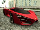 Ferrari F80 Concept for GTA San Andreas right view