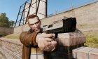 Самозарядный пистолет H&K USP v6 для GTA 4 вид слева