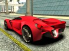 Ferrari F80 Concept for GTA San Andreas back view