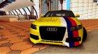 Audi S4 Smotra 2010 для GTA San Andreas вид изнутри