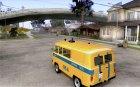 УАЗ 2206 Милиция для GTA San Andreas вид изнутри