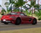 Mercedes-Benz SLS AMG Black Series 2013 для GTA San Andreas вид сверху