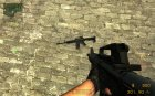 M4A1 for AK for Counter-Strike Source top view