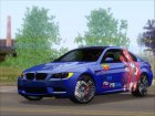 BMW M3 E92 2008 Rias Gremory Itasha (HQ) for GTA San Andreas right view