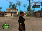 Футболка для модератора Crow for GTA San Andreas rear-left view