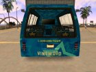 Vinewood VIP Star Tour Bus из GTA V для GTA San Andreas вид сверху