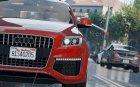2010 Audi Q7 for GTA 5 rear-left view
