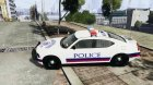 Dodge Charger Karachi City Police Dept. Car для GTA 4