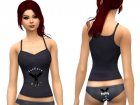 Supernatural PJ Set for Sims 4 rear-left view