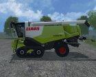 Claas Lexion 770 TT for Farming Simulator 2015 rear-left view