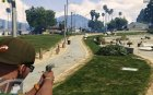 Colt 1911 for GTA 5 rear-left view