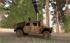 Hamvee M-1025 из Battlefiled 2 для GTA San Andreas вид изнутри