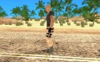 Dwayne Johnson for GTA San Andreas left view