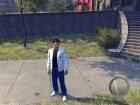 Белый костюм с синими джинсами для Mafia II вид изнутри