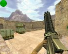 Лазерный Minigun for Counter-Strike 1.6 inside view