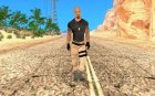 Dwayne Johnson for GTA San Andreas inside view