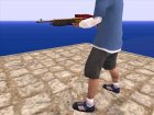 Christmas Shotgun SPAS (2016) для GTA San Andreas вид изнутри