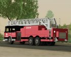 New Firetruck LA - LSFD Ladder 33 для GTA San Andreas вид сверху