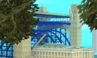 """Новые текстуры моста """"Золотые ворота"""" для GTA San Andreas вид слева"""
