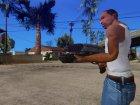 M-8 Avenger для GTA San Andreas вид сзади слева