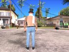 Skin HD GTA V Online 2015 в цилиндре for GTA San Andreas right view