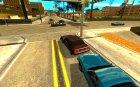 Качественные дороги в LS для GTA San Andreas вид сверху