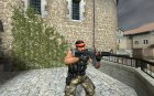 M4A1 [Silent Anims] for Counter-Strike Source top view