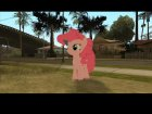 Pinkie Pie (My Little Pony) for GTA San Andreas left view