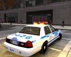 """NYPD-ESU K9"" 2010 Ford Crown Victoria Police Interceptor для GTA 4 вид сзади слева"