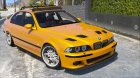 BMW M5 E39 1.1 for GTA 5 rear-left view
