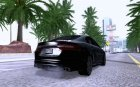 2012 Jaguar XFR V1.0 for GTA San Andreas rear-left view