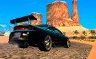 Mitsubishi Eclipse DriftStyle для GTA San Andreas вид сверху