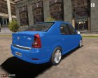 Dacia Logan 2008 для Mafia: The City of Lost Heaven вид сверху