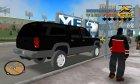 GMC Suburban 1996 FBI for GTA 3 top view