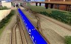 Liberty City Train Sonic для GTA San Andreas вид сзади слева
