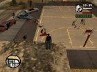 Разборки банд для GTA San Andreas вид изнутри