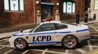 Comet Police для GTA 4 вид слева