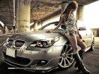 """Загрузочные экраны """"Сексуальные девушки и крутые Тачки"""" для GTA San Andreas вид сзади слева"""
