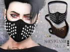Shinigami Mask for Sims 4 left view