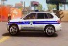 BMW X5 - Croatian Police Car for GTA San Andreas rear-left view