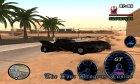Бетмен и его оружие для GTA San Andreas вид сзади