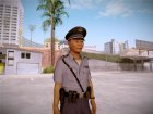 Japanese Policeman for GTA San Andreas left view