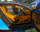 2017 Bugatti Chiron (Retextured) 3.0 for GTA 5 side view