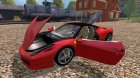 Ferrari 458 Italia для Farming Simulator 2015 вид сзади
